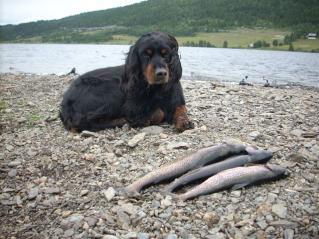 Fisketur med Hedda